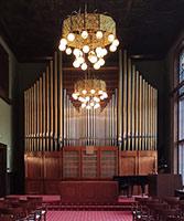 Varhany v Knihovně Petra Bezruče v Opavě
